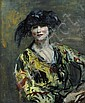Ambrose McEvoy (British, 1878-1927) 'Madame Errasuriz', Ambrose McEvoy, Click for value