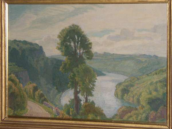 MODERN BRITISH Harold Dearden, A.R.C.A. (1888-1969) was a painter of landscape and figure subjects. He studied at the Royal College of Art and