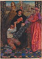 John Byam Shaw (British, 1872-1919) The ballad of Luther, the Pope, the Cardinal and a Husbandsman unframed