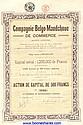 BELGO-MANDCHOUE DE COMMERCE S.A., CIE.