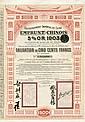 GOUV. IMPERIAL DE CHINE 1903 - C.D.F. ENTRE KAIFONG-FOU ET HONAN-FOU