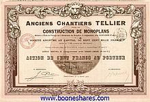 ANCIENS CHANTIERS TELLIER POUR LA CONSTRUCTION DE MONOPLANS S.A.