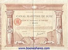 Auction of Antique Stocks & Bonds