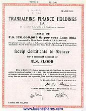 TRANSALPINE FINANCE HOLDINGS S.A.