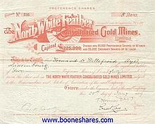 NORTH WHITE FEATHER CONSOLIDATED GOLD MINES, LTD.