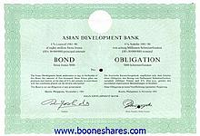ASIAN DEVELOPMENT BANK - ASIATISCHE ENTWICKLUNGSBANK