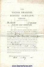 VICTOR EMANUEL MINING CO. LTD