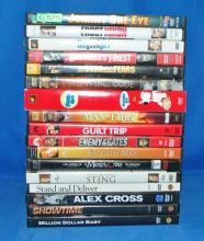 LOT OF 17 DVDS
