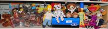 LARGE LOT OF COLLECTIBLE STUFFED ANIMALS/DOLLS