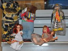 LOT OF VINTAGE COLLECTIBLE DOLLS