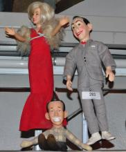 LOT OF 3 COLLECTIBLE DOLLS
