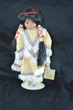 BROADWAY COLLECTION NATIVE AMERICAN DOLL