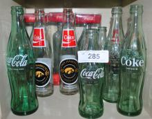 LOT OF 11 COLLECTOR COCA COLA BOTTLES