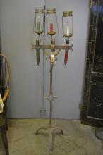 French Iron Lamp