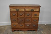 Early Apothecary Drawer Unit 40 3/4
