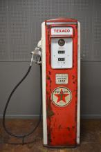 Lighted Tokheim Texaco Gas Pump 75 1/4