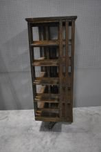 Revolving Book Shelf 71 3/4