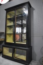 Victorian Painted Bookcase 83 3/4