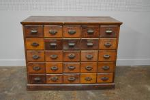 Apothecary Store Drawer Unit 45 1/2
