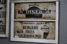Good Eats Diner Sign 27 1/4