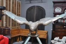 Monumental Bronze Eagle from Building in Dallas 82