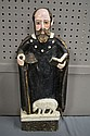 Carved Wood Saint