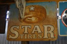 Star Tire Sign