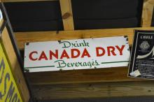 Porcelain Canada Dry Sign