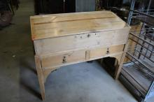 Pine School Master's Desk