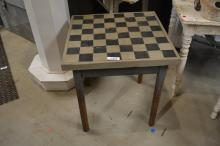 Early Painted Game Table