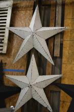 Painted Amish Made Stars X2