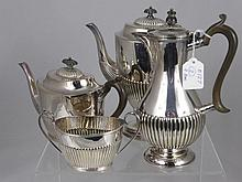 A Silver Plated Tea and Coffee Set by Mappen & Web