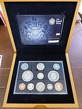 A Collection of Miscellaneous Silver Proof Coins i