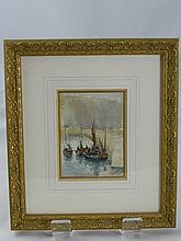 Nora Davison, Three Original Watercolours depictin