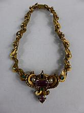 Lady's antique Indian fine quality hand made gold