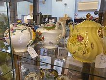 Collection of Porcelain, including Art Deco Lustre