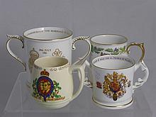 Miscellaneous Coronation Commemorative Mugs