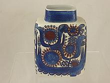 Royal Copenhagen 'Aluminia' Ceramic Vase