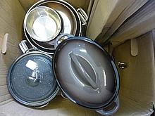 Quantity of Kitchenalia, including a marble knife