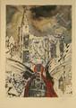 DALI Salvador 1904-1989  Lithographie signée et numérotée 63/300ex 94x61cm