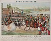 GLOUSKOV   God bless the Tsar, 1877 Chroma/Lithograph Loubok 43 x 50 cm