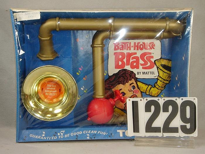 1967 Bath House Brass Kit made by Mattel