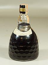 Baccarat decanter with Cognac Otard bottle label, 8