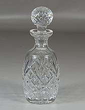 Waterford decanter, 10 1/2