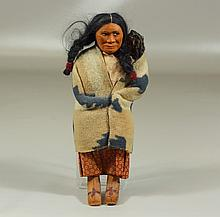 Skookum Native American doll, 10