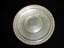 International Sterling Cake Plate,