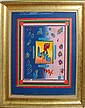 Peter Max, Original Painting -