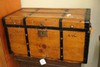 19TH CENTURY STAGE COACH TRUNK