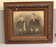 Rare Civil War Portrait of Giles County VA Father and Son