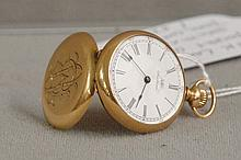 14k Ladies gold Pocket Watch by Waltham